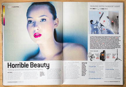 Featured Photographer Betsy Hansen Popular Photography Magazine Beauty Lighting