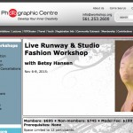 Betsy Hansen Runway Studio Fashion Workshop Palm Beach Photographic Center