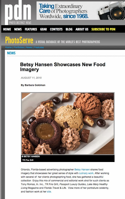 PDN Featured Food Photographer Betsy Hansen